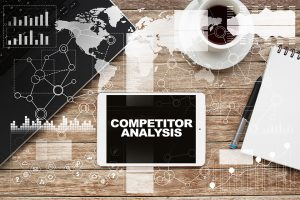 competitor analysis graphic