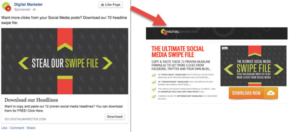 digital marketer squeeze page